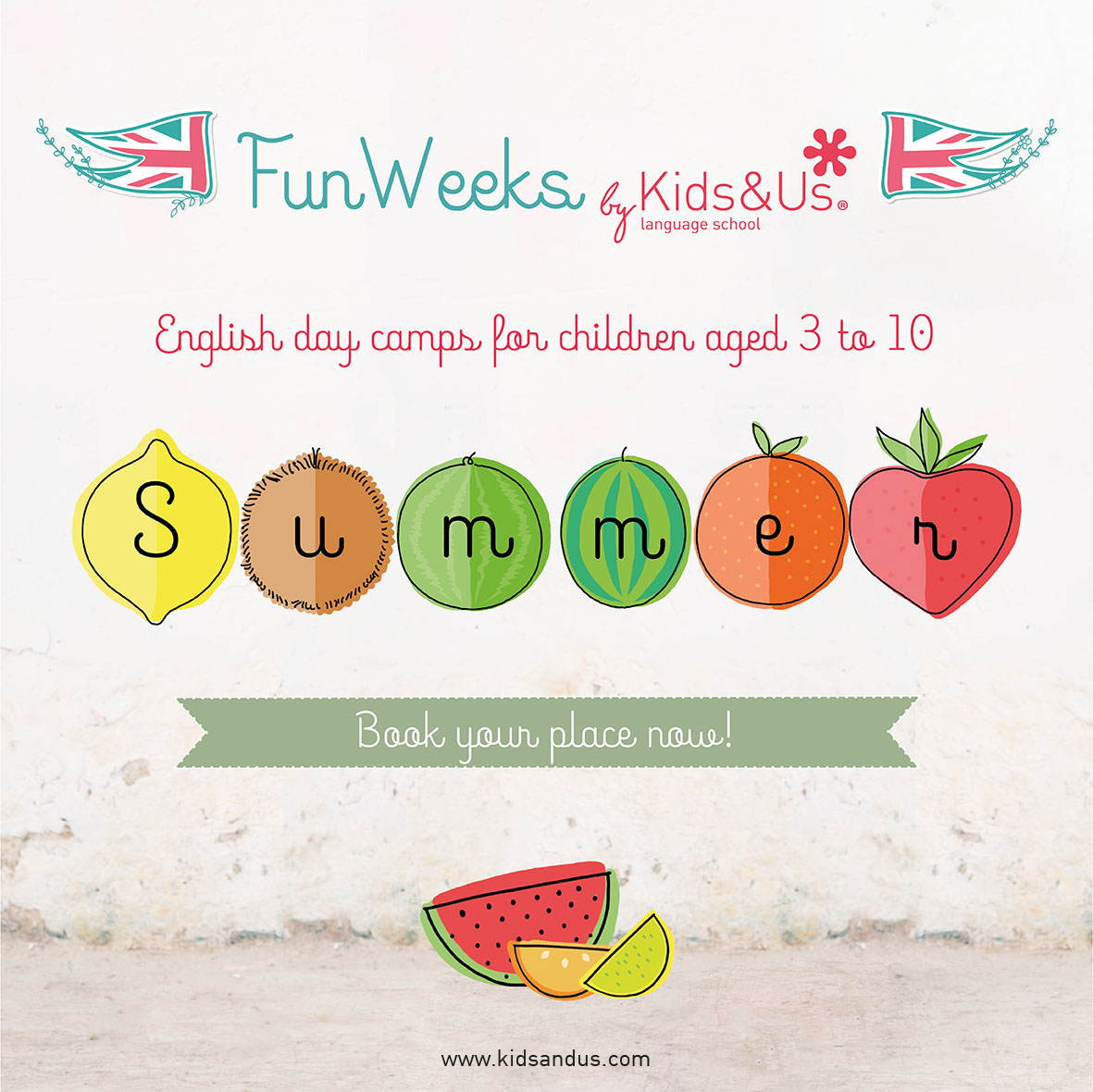 The Kids&Us Summer Fun Weeks are back!